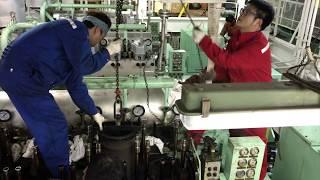 Моточистка дизель-генератора №3(повна)/Auxiliary Engine №3 overhaul/ВІДЕОЩОДЕННИК VLOG№23