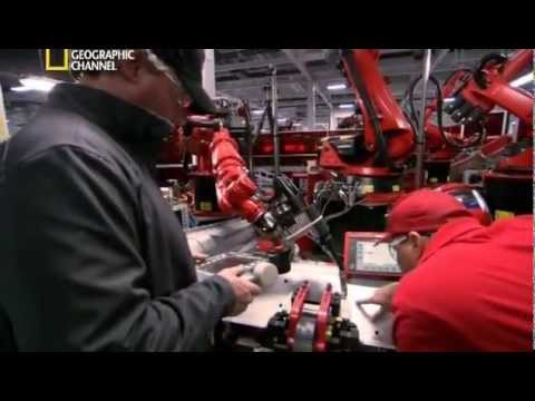 Производство электромобилей - завод Tesla