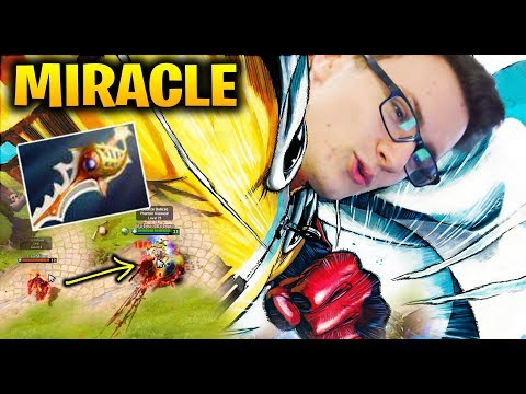 MIRACLE ONE PUNCH MAN Item Build for PA Dota 2
