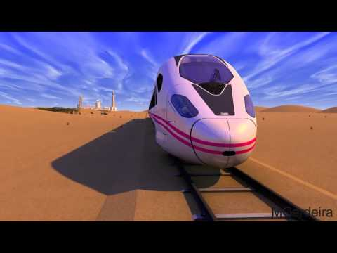 CAF Trains Animation