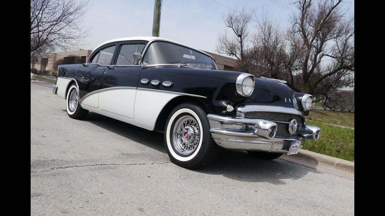 1956 buick special tourback sedan sold youtube for 1956 buick special 4 door hardtop