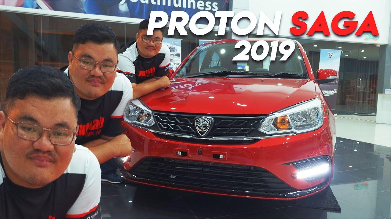 Proton Saga 2019 Harga Bermula Rm32 800 Hingga Rm39 800 Youtube