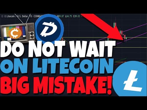 DO NOT WAIT ON LITECOIN: Don't Make The Same Mistake I Did... I Bought Into LTC (DGB Analysis)