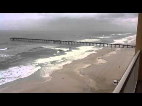 Tropical Storm Debby hits Panama City Beach
