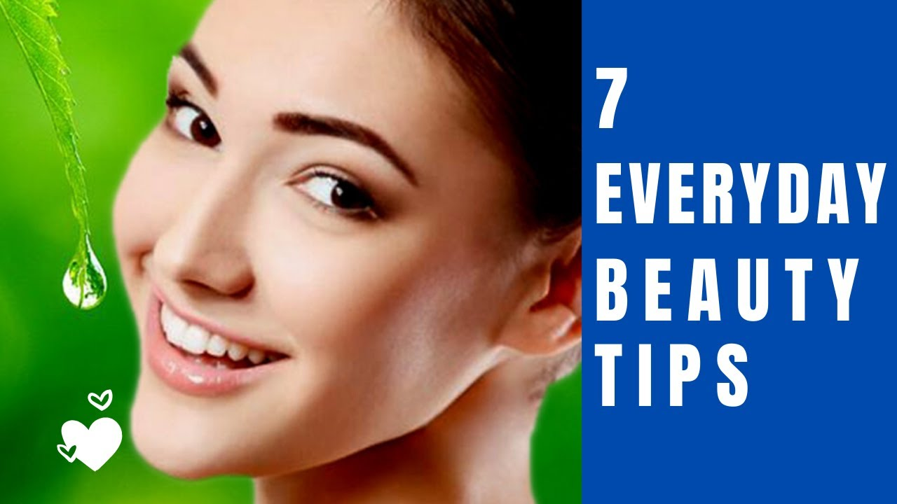 12 every day beauty 12 Beauty Tips You Should Try Right Now