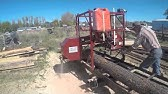 TimberKing Portable Sawmill | Sawmill Auctions - YouTube