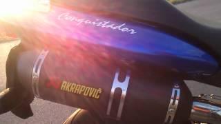 Honda Hornet 250 exhaust sound