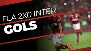 Gols - Flamengo 2 x 0 Internacional