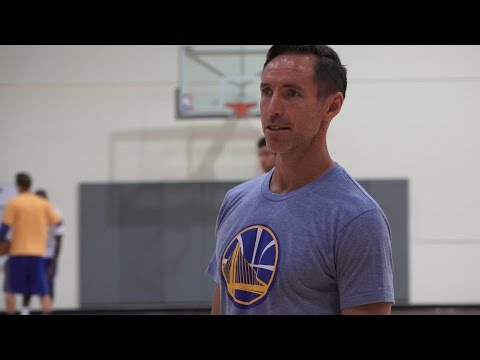 Steve Nash at Work with Warriors