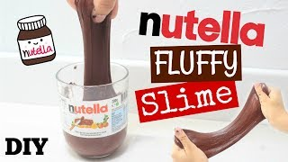 DIY NUTELLA FLUFFY SLIME FACILE ET INRATABLE + CONCOURS (SANS LESSIVE, SANS MAIZENA) thumbnail