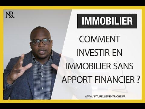 Comment Investir En Immobilier Sans Apport Financier