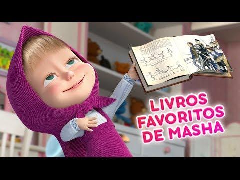 Masha e o Urso - 📖 Livros Favoritos De Masha 📚
