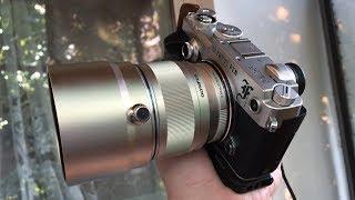 Обзор бленды для Olympus 75mm F1.8