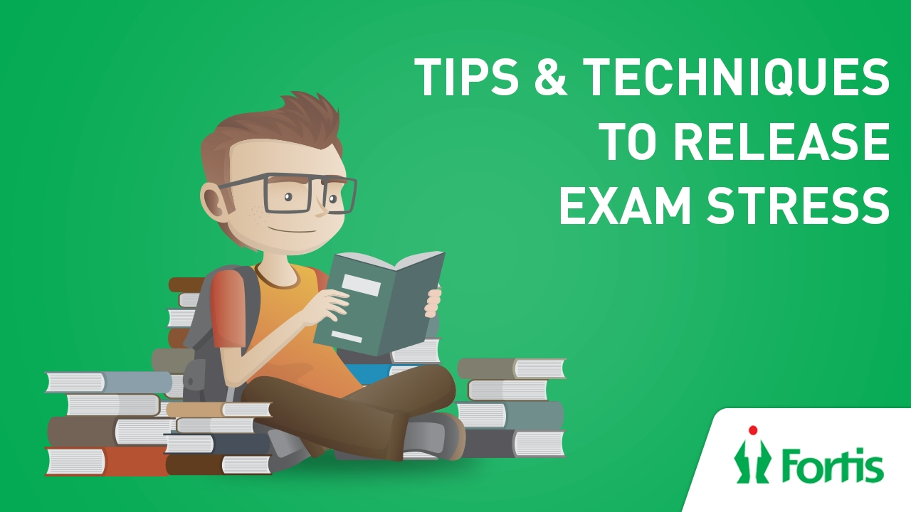 How to cope up with Exam Stress in this Exam Season