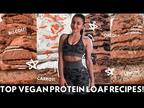 5 VEGAN HIGH PROTEIN LOAF RECIPES! Other than boring banana bread! Quick, Easy & Simple!