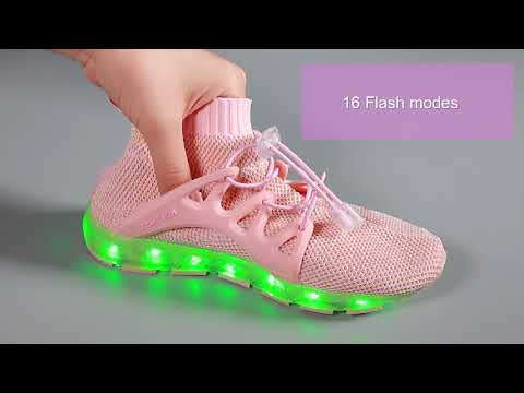 LED LIGHT UP SHOES SOLD BY EIGHT KM
