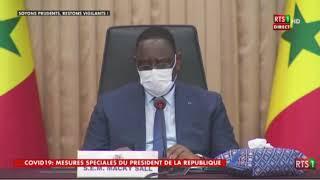 Macky Sall : « L'heure est grave ! »