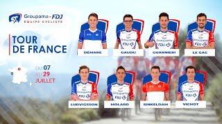 La bande-annonce de l'Équipe Groupama-FDJ pour le Tour de France 2018