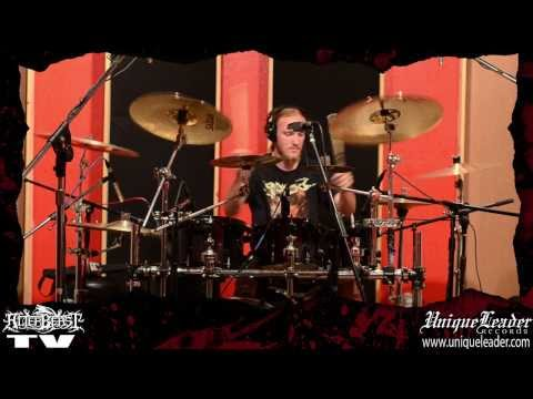 ALTERBEAST drum recording Castle Ultimate Studios