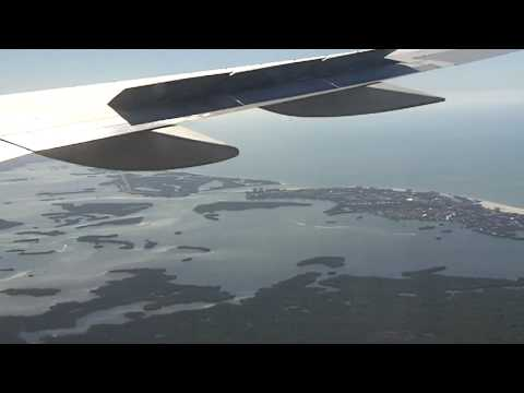 Delta Air Lines 757 landing in Fort Myers HD PLEASE RATE