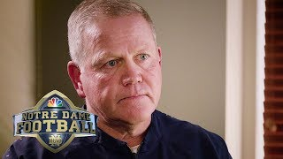 Brian Kelly: Notre Dame vs. Michigan matchup 'great for college football' I NBC Sports