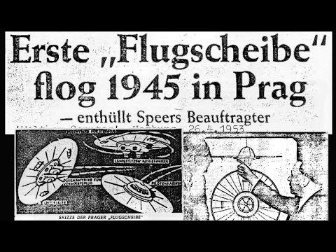 10 most intriguing German Flying Saucer articles published between 1945 - 1969