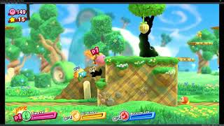 yuzu Canary 2318 | Kirby Star Allies Gameplay