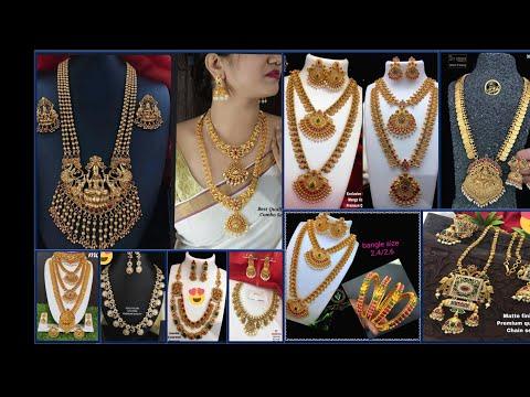 Bangalore Chickpet One Gram Gold Jewllery//wholesale U0026 Retail Shop//Imitation Jewellery Collection.