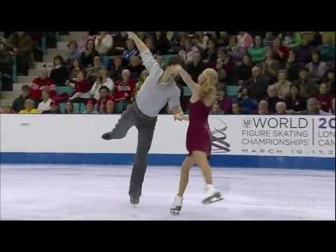 Kaitlyn Weaver & Andrew Poje. FD. 2012 Canadian Figure Skating Championships