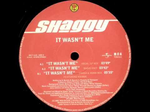Shaggy - It Wasn't Me (Crash & Burn Mix)(TO)