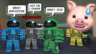 ROBLOX AMONG US.. [Impostor Beta]