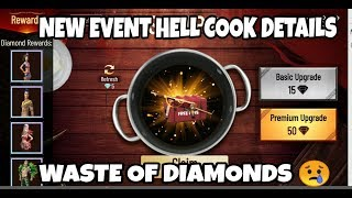 FREE FIRE HELL COOK EVENT || FREE FIRE HELL COOK 2 FULL DETAILS