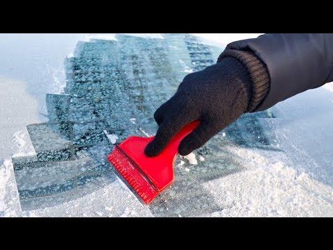 Правильно чистим машину от снега и льда, Выпуск 12