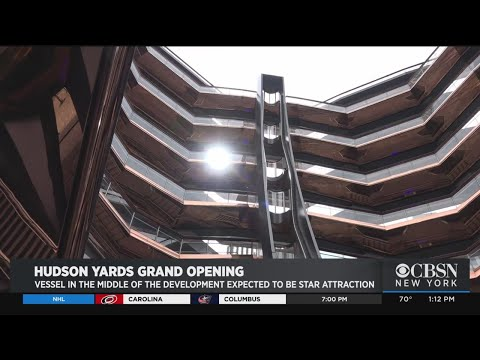 Vessel In Middle Of Hudson Yards Expected To Be Star Attraction