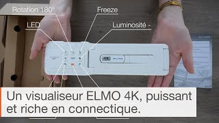 IN THE BOX : Visualiseur ELMO MX-P