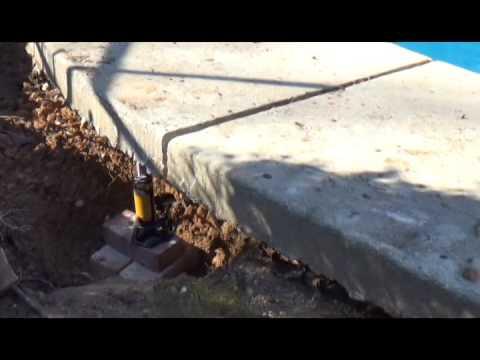 Repairing Concrete Pool Deck Call 8003019317