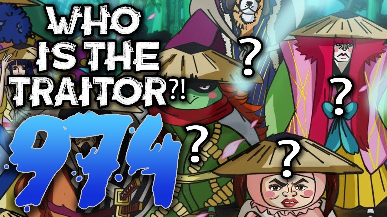 THE TRAITOR REVEALED / One Piece Chapter 974 Review
