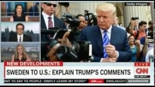 Sweden asks US to explain President Trump's Comments