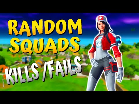 Fortnite Chapter 2 Gameplay (No Commentary) - RANDOM SQUADS (PART 2)