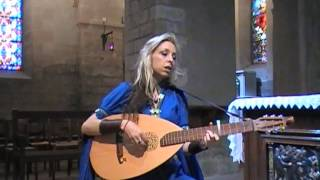 Rosa das Rosas chant médiéval par Marina Lys