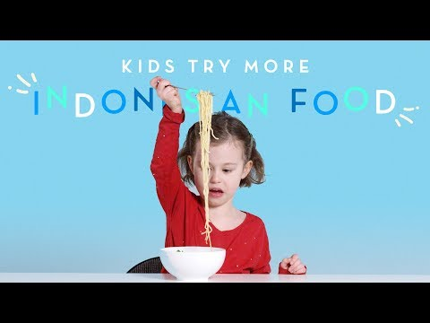 More Indonesian Foods | Kids Try | HiHo Kids