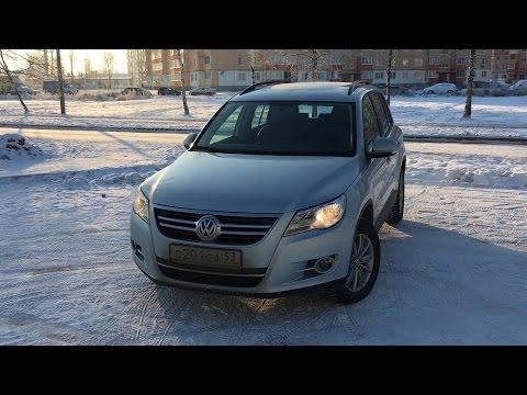 Мини обзор Volkswagen Tiguan с пробегом.