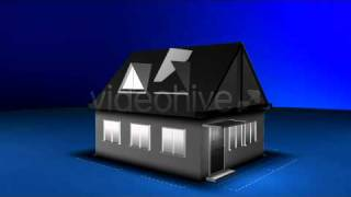 Blueprint Project, Building A House After Effects Project Template