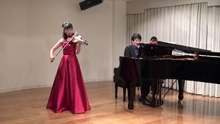 バイオリン 藤原望 Violin: Nozomi Fujiwara ピアノ 遠藤拓弥 Piano: Ta...