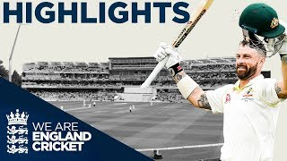 Smith & Wade Make England Toil | The Ashes Day 4 Highlights | First Specsavers Ashes Test 2019