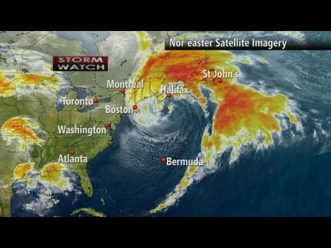 Nor'Easter?  Wind's and Waves Nova Scotia