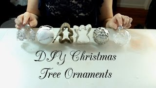 DIY Christmas Tree Ornaments Thumbnail