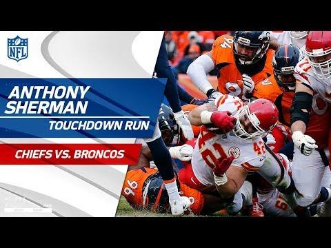 Patrick Mahomes' TD Strike to Anthony Sherman Caps Off KC Drive! | Chiefs vs. Broncos | NFL Wk 17