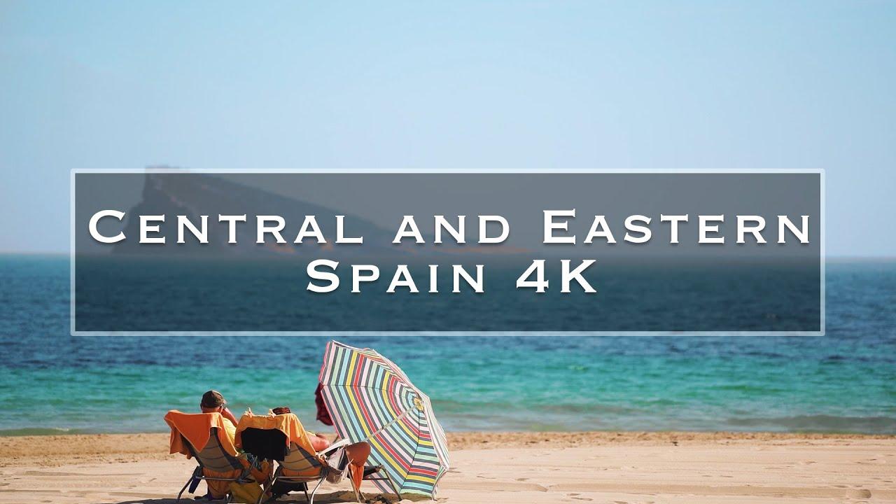 Nos vamos de viaje por nuestra querida España. El primer vídeo la recorre en el sector oriental y el segundo el sector meridional.