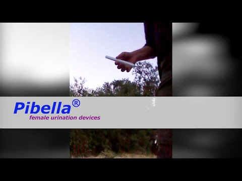 The easy female urination device PIBELLA for all women